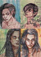 The Four Units: Elven Army by Soukyan
