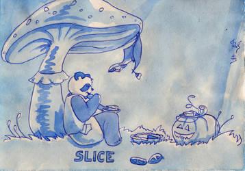 Inktober 31 Slice by Soukyan