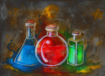 Blackwood's Potions by Soukyan
