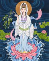 Guan Yin by B-Moussart