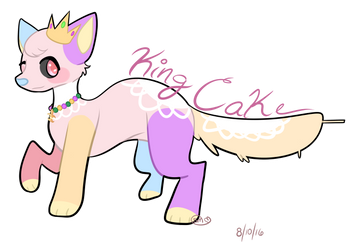 King Cake - KagomeHanami .:REQUEST:. by SamMeows