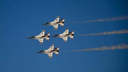 USAF Thunderbirds by pdelariva