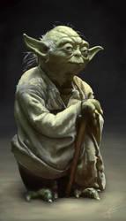 Yoda - WIP 2 by CID228