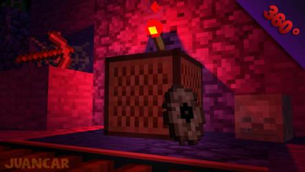 Minecraft Animation Disco 11 in 360 grades by Juancar28