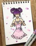 Violet  by LadyAstrogah