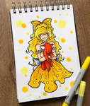 Yellow by LadyAstrogah