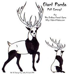 TEF Giant Panda Pelt by ghost-eye