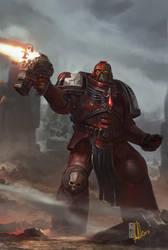 Warhammer DOWIII cover by DavidSondered