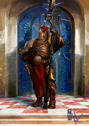Guarding the Gate- Custodes Orientalism by DavidSondered