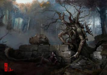 TheSword-Waldgeist by DavidSondered