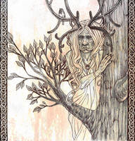 Mistress of the Woods by SaskiaDeKorte