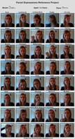Facial Expressions by SaskiaDeKorte