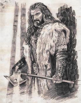 Thorin Oakenshield by SaskiaDeKorte