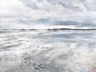 Mudflats by SaskiaDeKorte