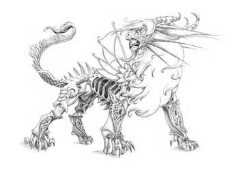 Kirin-lion by Sa-chan1603