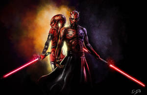 Talon and Maul by SamDenmarkArt