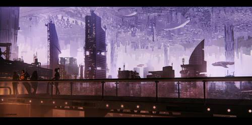 Dystopia by SamDenmarkArt