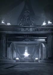 Throne Room Concept by SamDenmarkArt