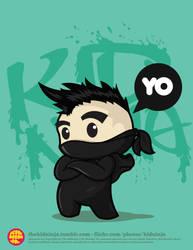 Mo-Hawk Ninja by supermanisback