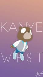 Kanye West iPhone Wallpaper by paurudesu