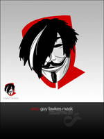 Youth Theatre Logo: Guy Fawkes by junkpile
