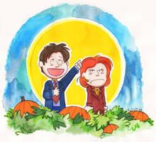 It's the Great Pumpkin... by HedgehogBeeblebrox