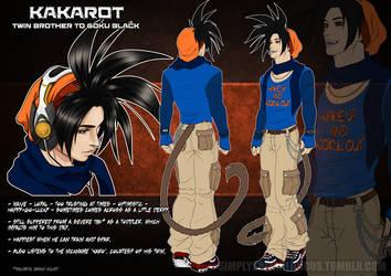 DBZ - Kakarot reference sheet by NecrosisDemon