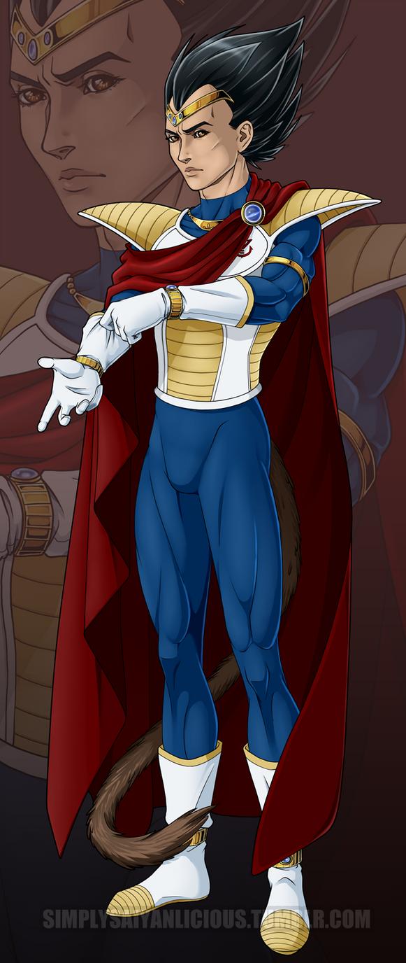 DBZ - King Vegeta by NecrosisDemon