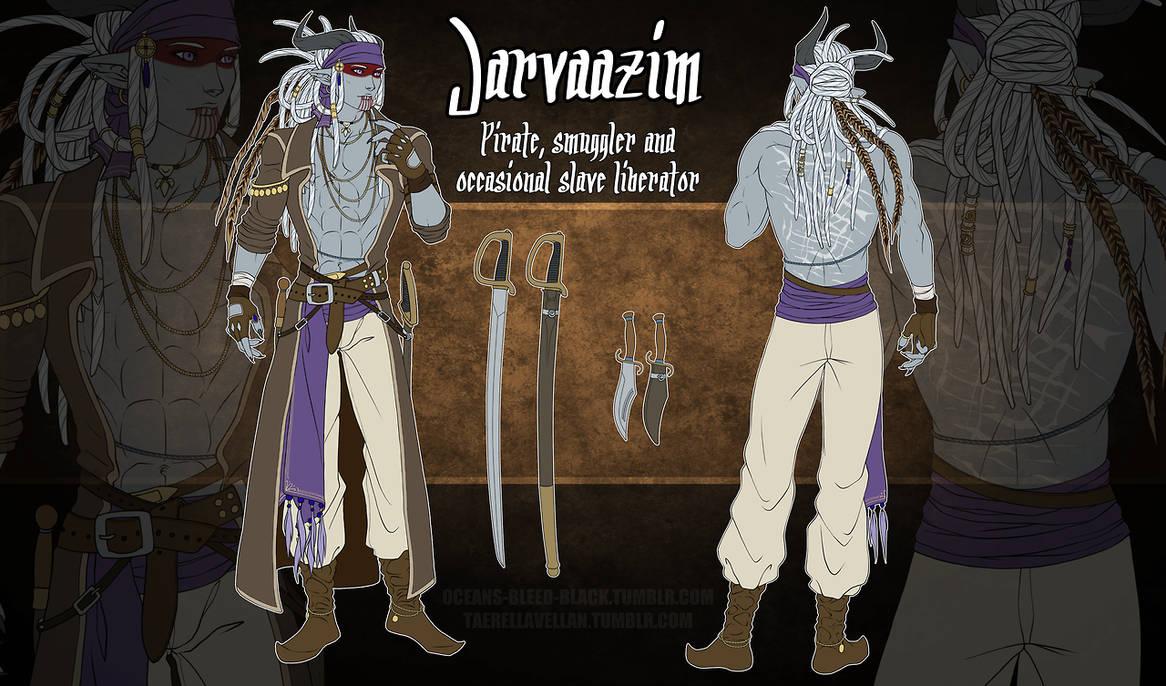 DA - Jarvaazim 2018 reference by NecrosisDemon