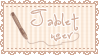 Cute Tablet user Stamp by VocaloidStamps