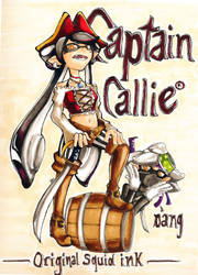 Captain Callie by BeryldeRougeforts