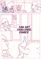 CHALLENGE: COMICS by Evo-Obsessed-Club