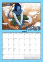 2010 Calendar - February by Evo-Obsessed-Club