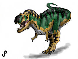 The Lost World Jurassic Park T-rex Bull by Alien-Psychopath