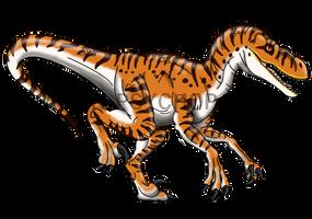 Jurassic Park: Male V.nublariensis by Alien-Psychopath