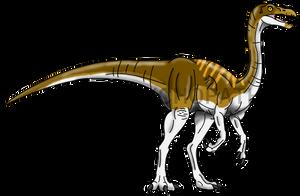 Jurassic Park: Gallimimus by Alien-Psychopath