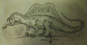 Spinosaurus aegyptiacus 2014 by Alien-Psychopath