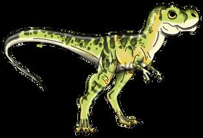 Jurassic Park: Baby Tyrannosaurus rex by Alien-Psychopath