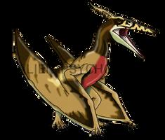 Jurassic Park: Female Pteranodon by Alien-Psychopath