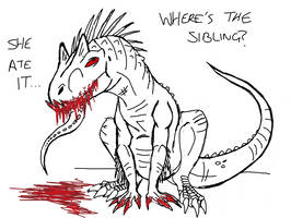 Jurassic World: I didn't do it by Alien-Psychopath