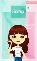 Comission #16 DreamerPanda by PelushitaPetisuit