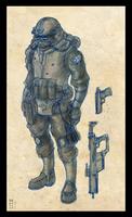UPD Marine Sketch by Zaeta-K