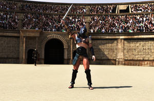 Gladiator by belzaph