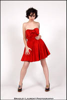 Shiny Red Dress by A-I-J-I-N