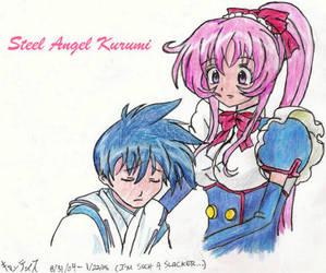 Kurumi and Nakahito by SatoshisDarkchan