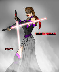 Darth Belle - The Princess of Shadows by fatalgod23