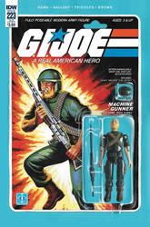 G.I. Joe ARAH #223 Rock 'N Roll toy comic IDW by AdamRiches
