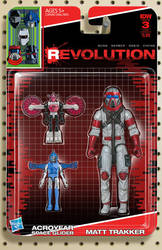 IDW Revolution Micronauts MASK toy cover #3 by AdamRiches