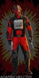 G.I. Joe Cobra Air Devil Packaging Illustration by AdamRiches