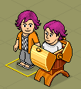 Habbo suprise by PaintedPlanets